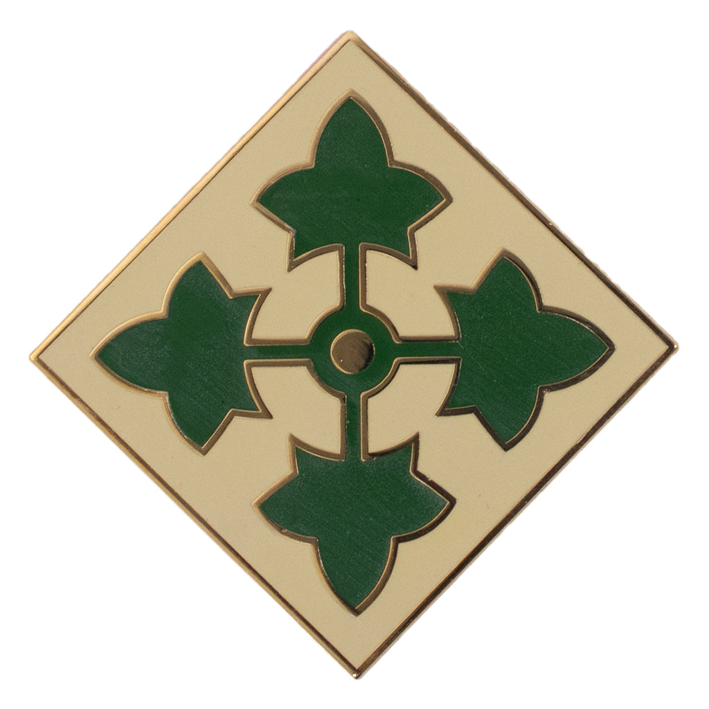 Army Combat Service Identification Badge (CSIB): 4th Infantry Division