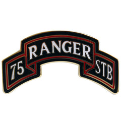 Army Combat Service Identification Badge (CSIB): 75th Ranger Special Troops Battalion Scroll