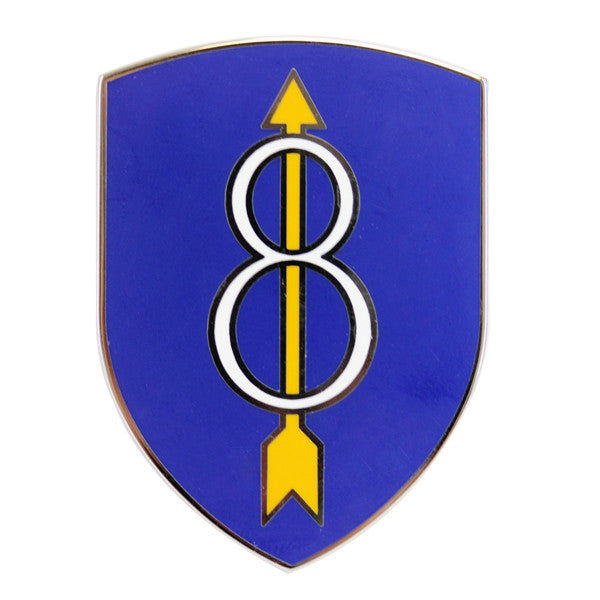 Army Combat Service Identification Badge (CSIB):  8th Infantry Division