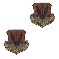 Air Force Patch: Air Combat Command - OCP with hook