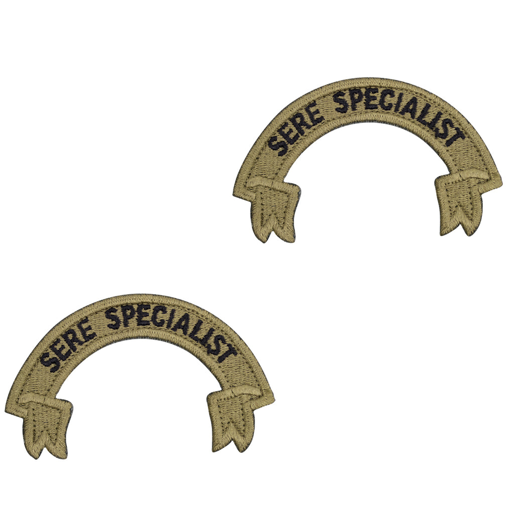 Air Force Patch: Scroll SERE Specialist- OCP with hook