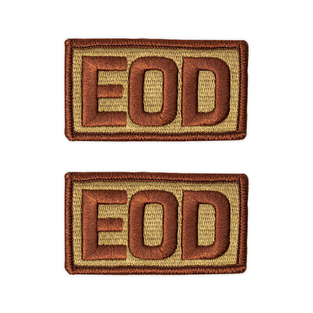 Air Force Patch: EOD Letters - OCP with hook