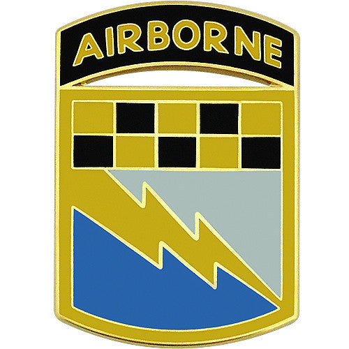 Army Combat Service Identification Badge (CSIB): 525th Battlefield Surveillance Brigade with Tab
