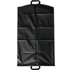 Garment Bag: Vinyl with zipper Black
