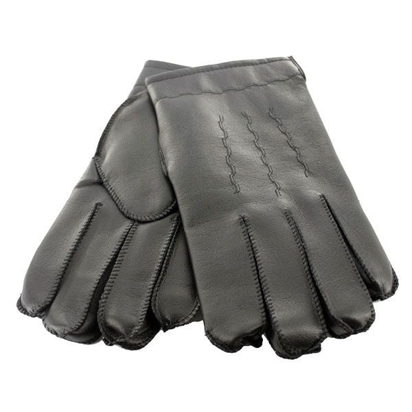 Acrylic Gloves: Vinyl - black