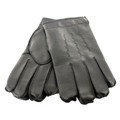 Gloves Black Vinyl Acrylic