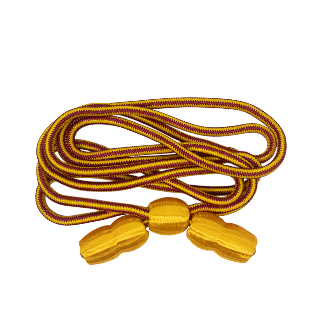 Army Hat Cord - Ordnance with Gold Acorns