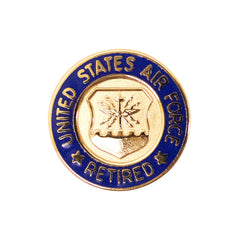 Lapel Pin: Air Force Retired