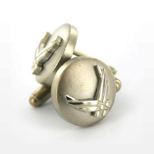 Air Force Cuff Links: Eagle Device