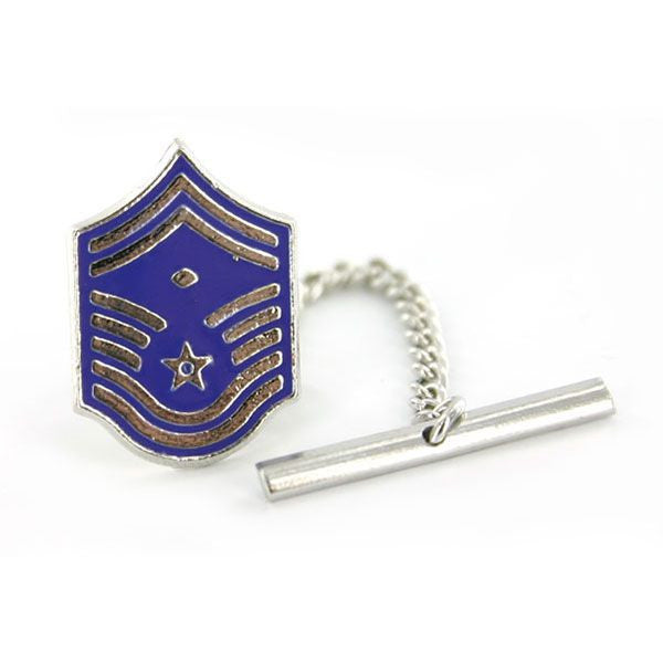 Air Force Tie Tac: Master Sergeant: First Sergeant: Senior