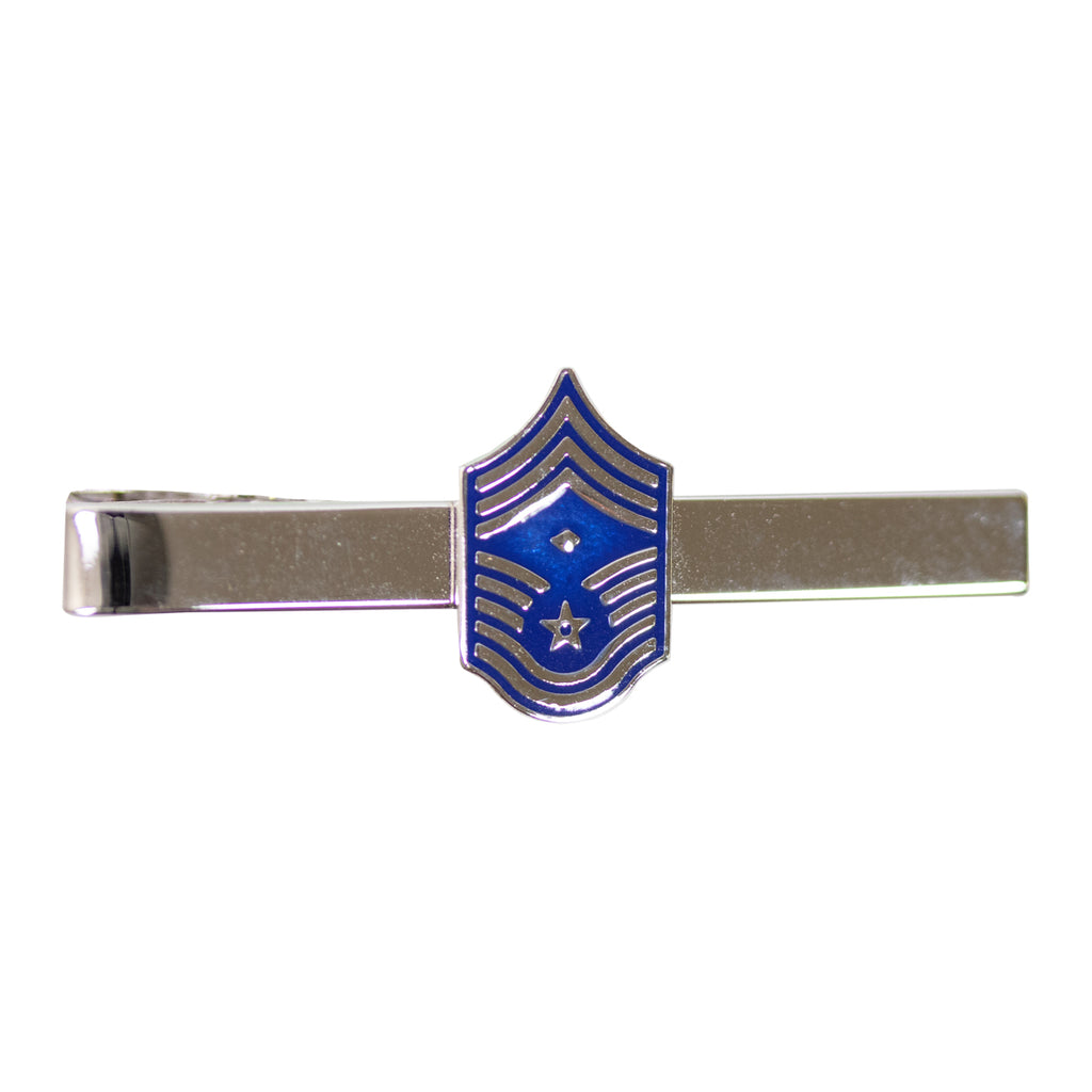 Air Force Tie Bar: Enlisted Master Sergeant with Diamond