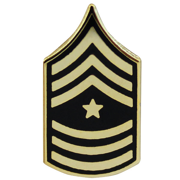 Army Tie Tac: Sergeant Major