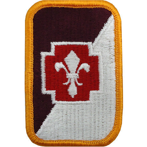 Army Patch: 62nd Medical Brigade - color