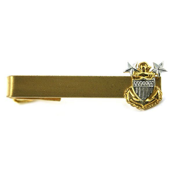 Coast Guard Tie Clasp: E9  Master Chief Petty Officer