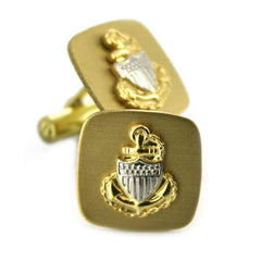 Coast Guard Cuff Links: E7 CPO