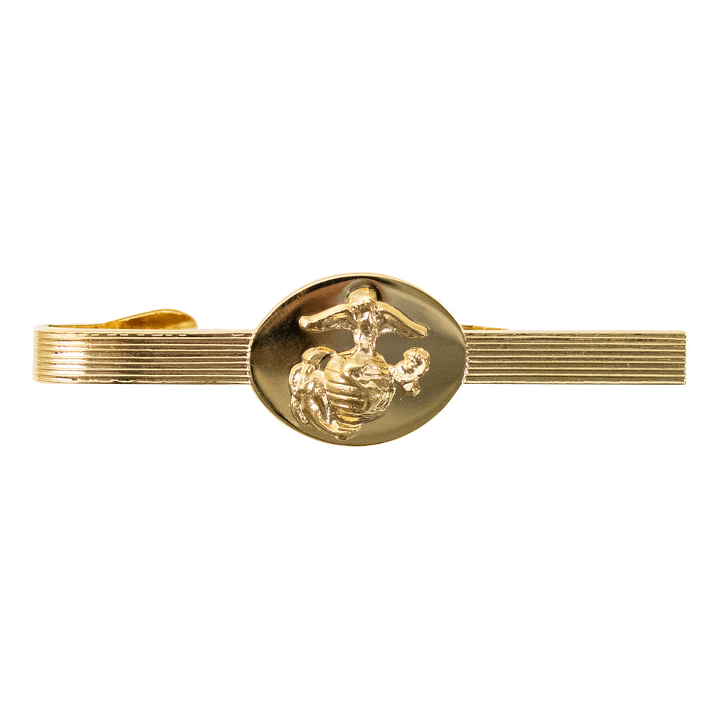 Marine Corps Tie Clasp: Non-Commissioned Officer - 24K Gold Plated