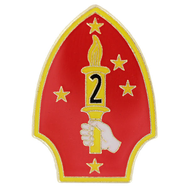 Lapel Pin: 2nd Marine Division