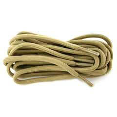 Boot Laces: Tan Khaki Nylon - 72 inches
