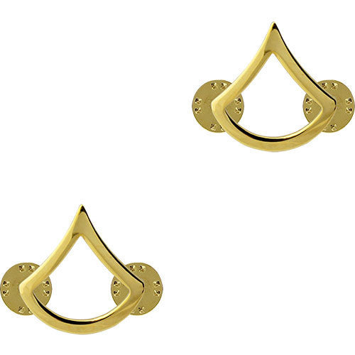 Army Chevron: Private First Class - 22k gold plated