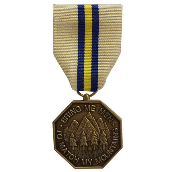 Full Size Medal: California National Guard Commendation Medal