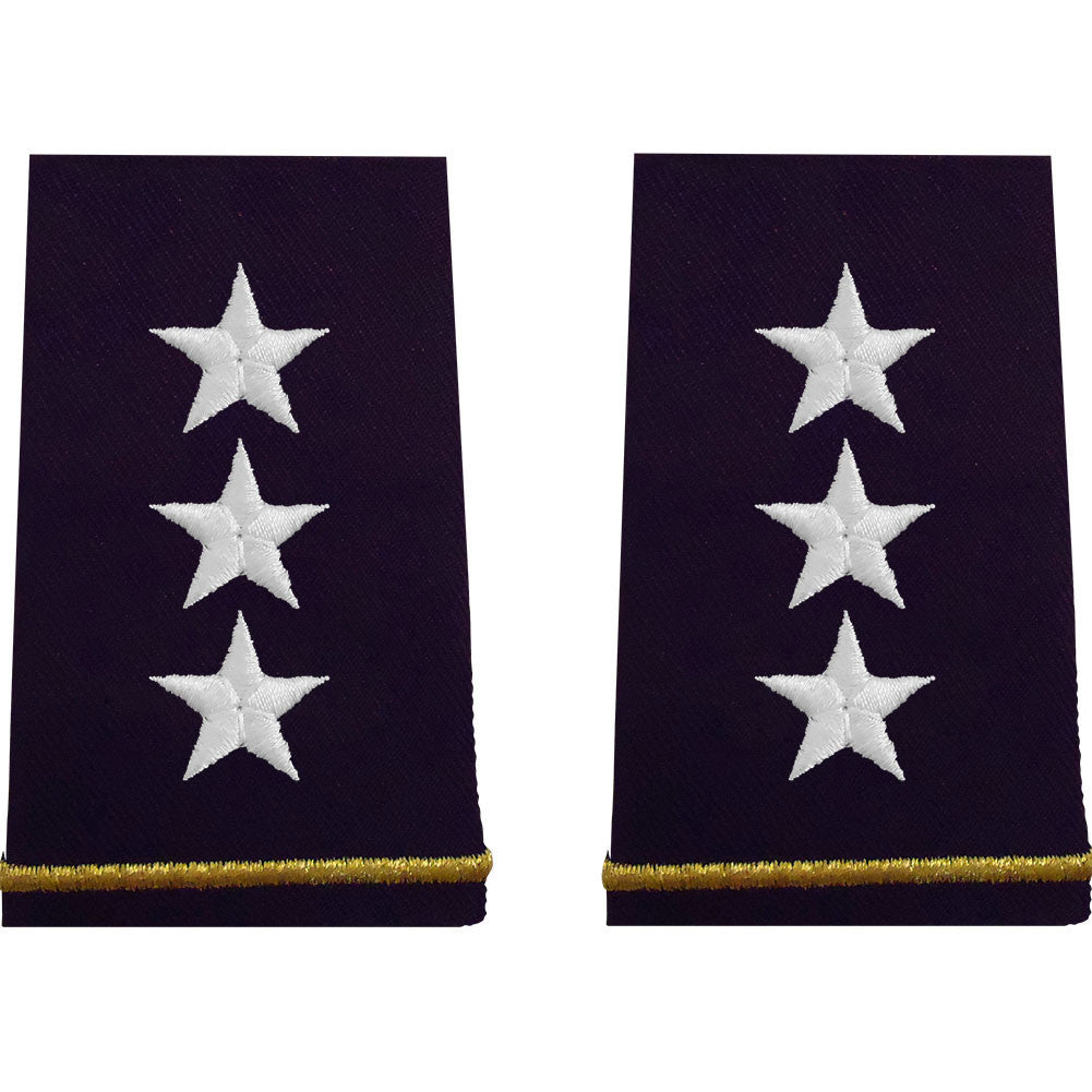 Army Epaulet: Lieutenant General - small