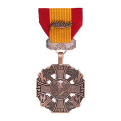 Full Size Medal: Gallantry Cross Armed Forces Palm Attachment