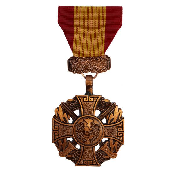 Full Size Medal: Gallantry Cross Armed Forces No Attachment