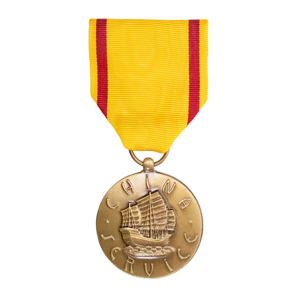 Full Size Medal: Marine Corps China Service