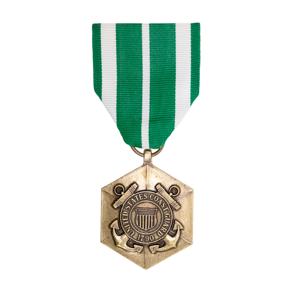 Full Size Medal: Coast Guard Commendation