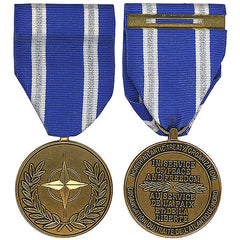 Full Size Medal: NATO Non-Article 5 Medal for Afghanistan