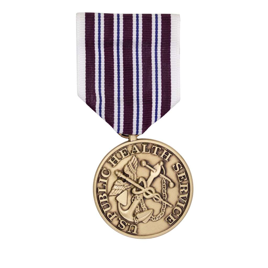 Full Size Medal: Public Health Service Hazardous Duty Service Award