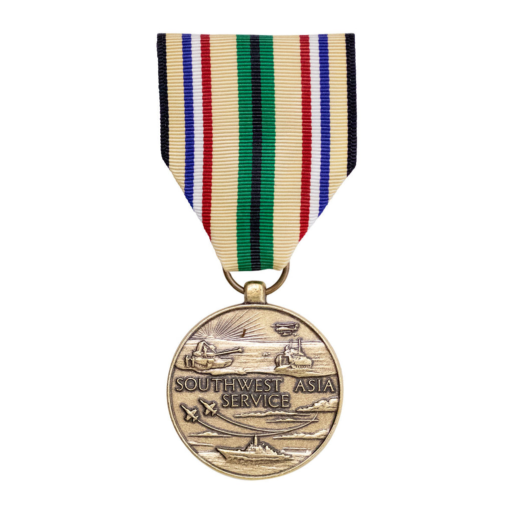 Full Size Medal: Southwest Asia Service