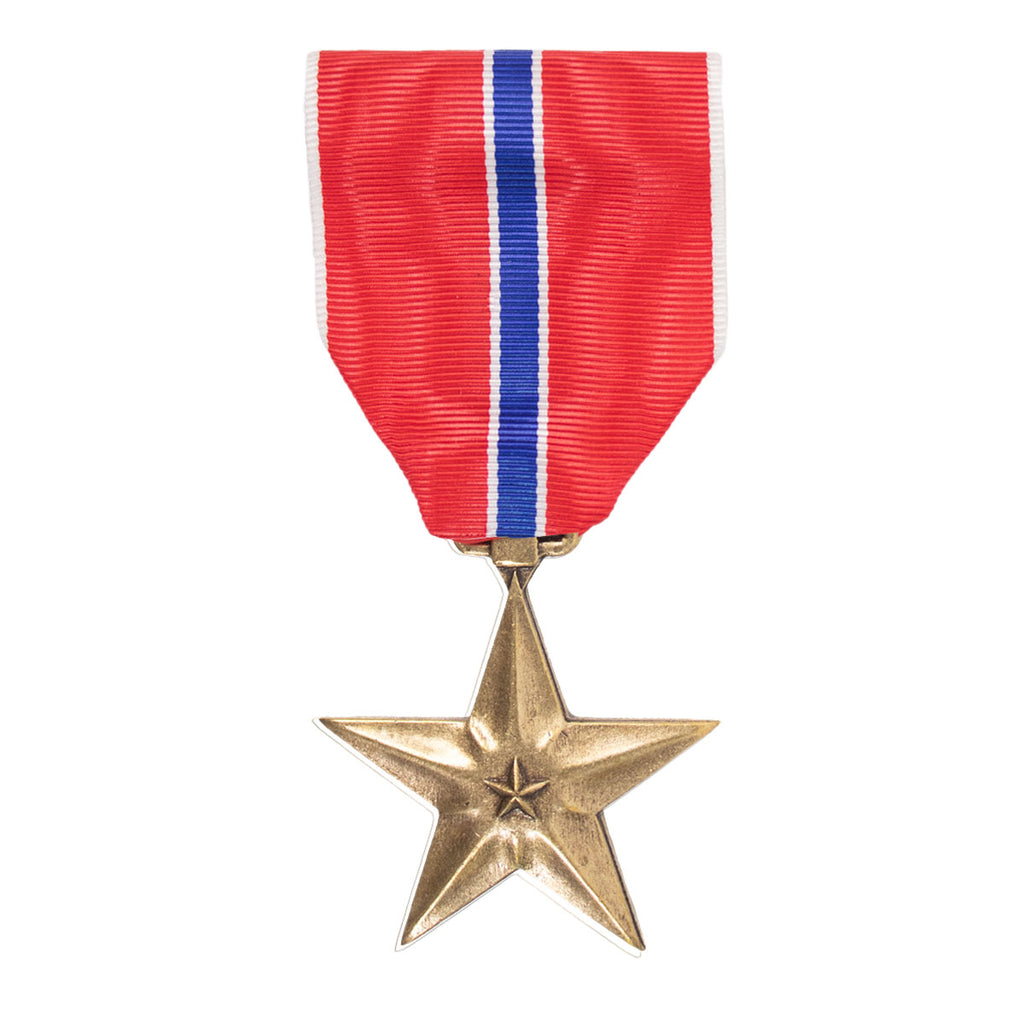 Full Size Medal: Bronze Star