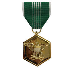 Full Size Medal: Army Commendation - 24k Gold Plated