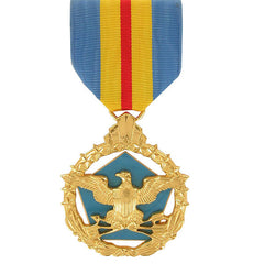 Full Size Medal: Defense Distinguished Service - 24k Gold Plated