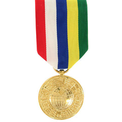 Full Size Medal: Inter American Defense Board - 24k Gold Plated