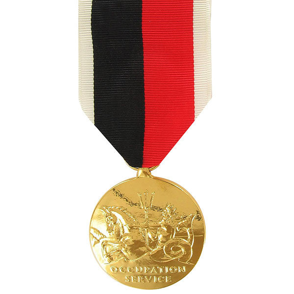 Full Size Medal: WWII Occupation Marine Corps - anodized