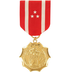 Full Size Medal: Philippine Defense - 24k Gold Plated