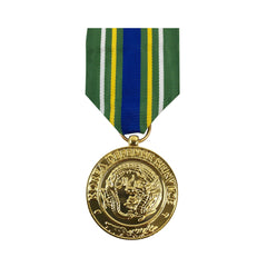 Full Size Medal: Korean Defense Service Medal - 24k Gold Plated