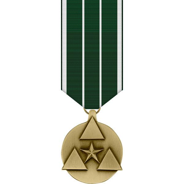 Army miniature Medal: Army Commanders award for Civilian Service