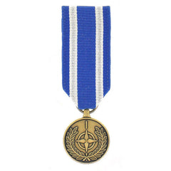 Miniature Medal: NATO Non-Article-5 Medal: Afghanistan