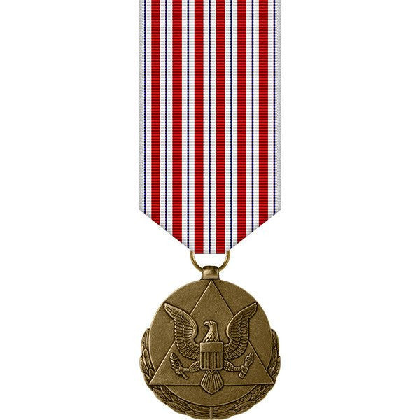 Army miniature Medal: Outstanding Civilian Service