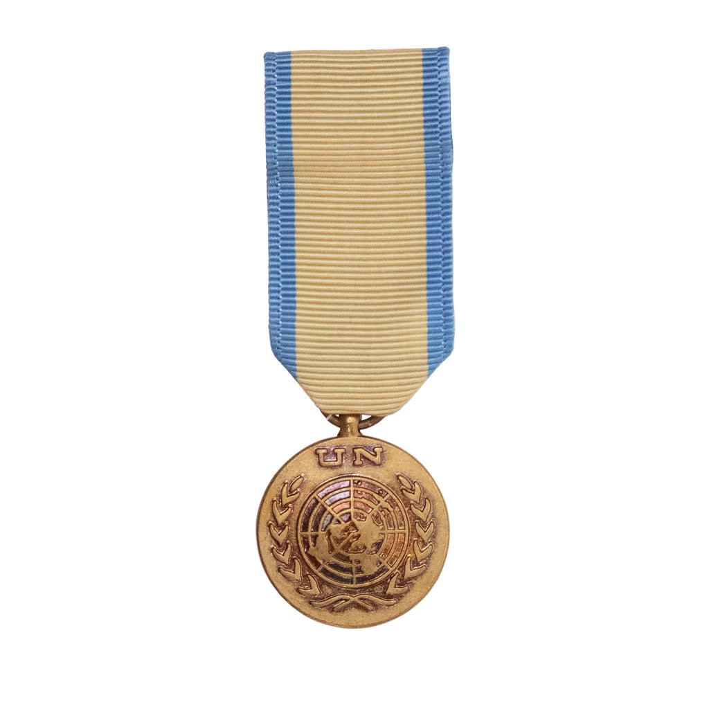 Miniature Medal: United Nation Operations in Western Sahara