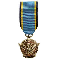 Air Force Miniature Medal - 24k Gold Plated: Aerial Achievement