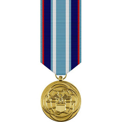 Air Force Miniature Medal - 24k Gold Plated: Air and Space Campaign