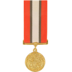 Miniature Medal- Anodized: Multinational Force and Observer