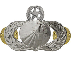 Air Force Badge: Acquisition: Master - midsize
