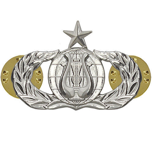 Air Force Badge: Band: Senior - midsize