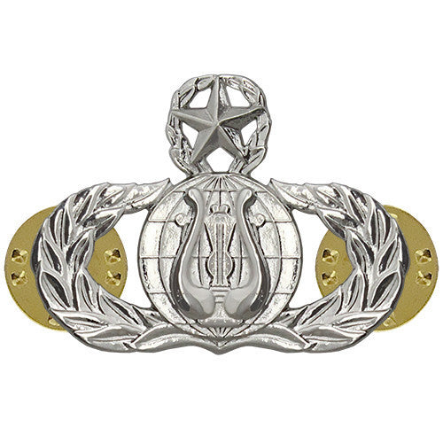 Air Force Badge: Band: Master - midsize