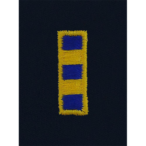 Coast Guard Embroidered Parka Tab: Warrant Officer 2